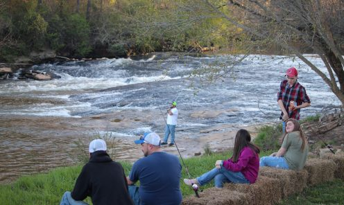 Fishing on the Enoree River