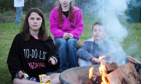 Kids at the Firepit